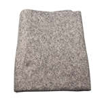 "Disposable Grey Blanket 100% Polyester 40"" x 90"", 24/Cs"