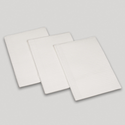 Protowels White 3ply Tissue 13 x18, 500/Cs