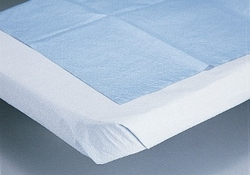 "Drape Sheet 2-Ply, White, 40"" x 48"", 100/cs"