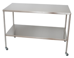 "SS8008 Instrument Table 48"" x 24"" x 34"" Ea"